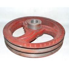 Шкив ПУН 2-ух ручейный привода вентилятора измельчителя | Нива ПУН-5.29.110АК